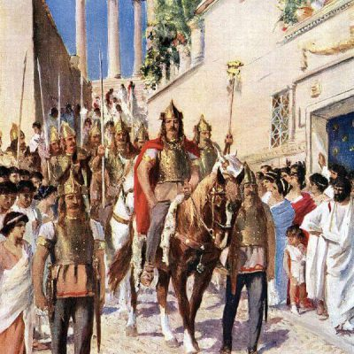 Visigoths in Athens