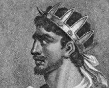 Wizerunek młodego Atylli
