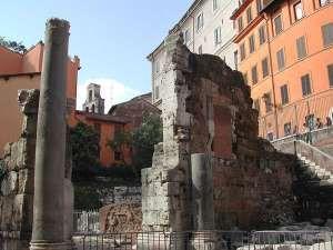 Ruiny świątyni Bellony