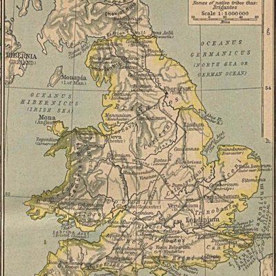 Brytania w 410 roku n.e.