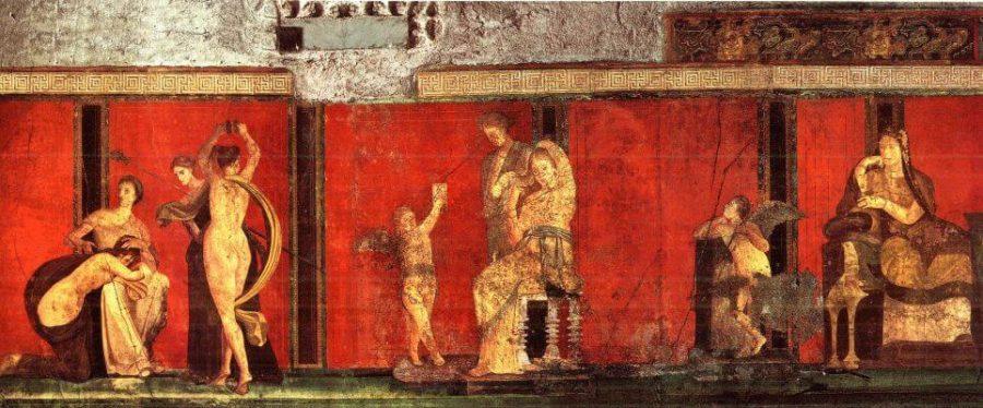 Prawa strona fresku Misteria donizyjskie