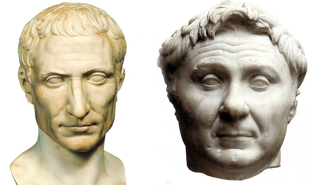 Wojna domowa Cezara i Pompejusza