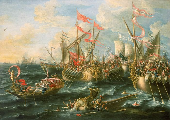 Battle of Actium, Lorenzo A. Castro