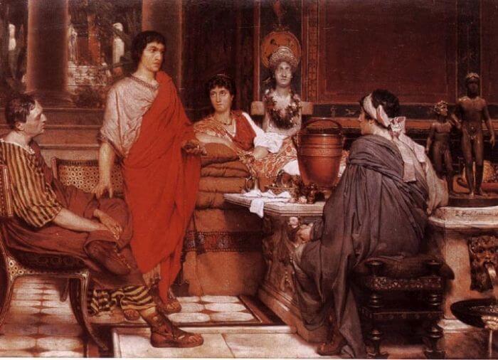 Catullus at Lesbia's, Lawrence Alma-Tadema