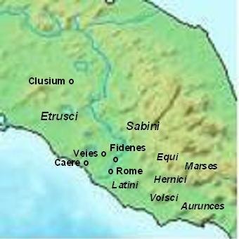 Plemiona środkowej Italii