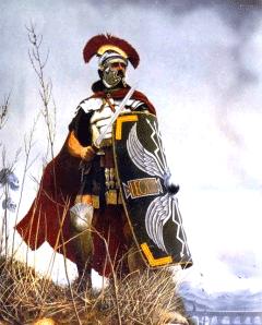 Centurion (centurio) był niższym oficerem