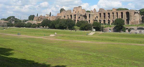 Dzisiaj Circus Maximus to park