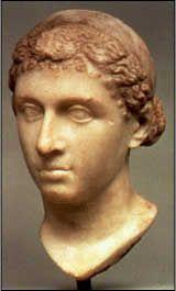 Popiersie Kleopatry VII