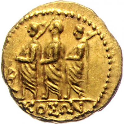 Gold coin from Dacia