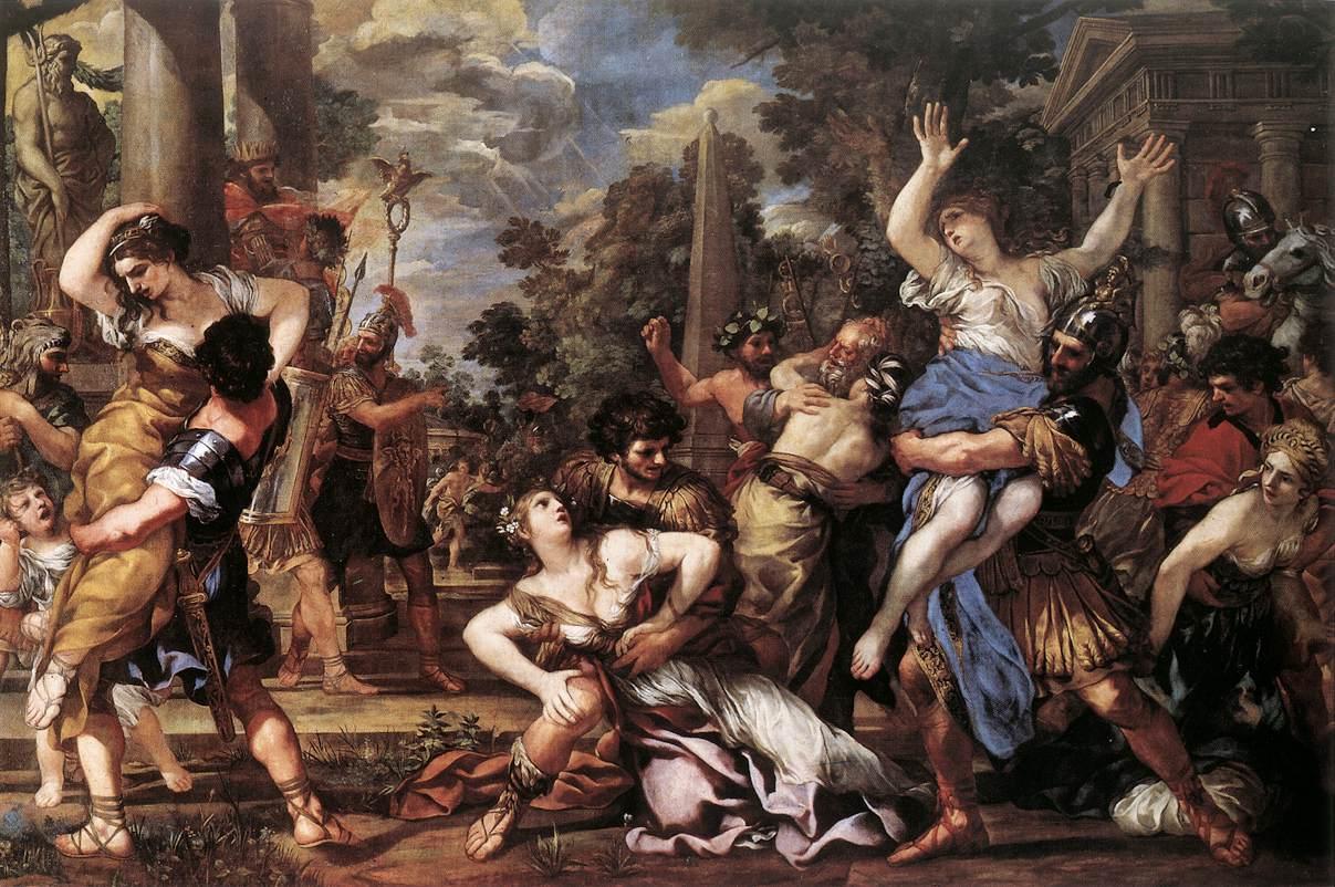 Porwanie Sabinek, Pietro da Cortona