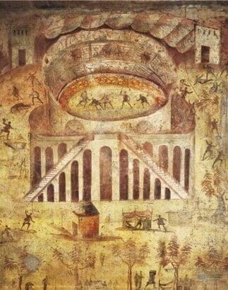 Zamieszki w 59 roku n.e. przy amfiteatrze w Pompejach