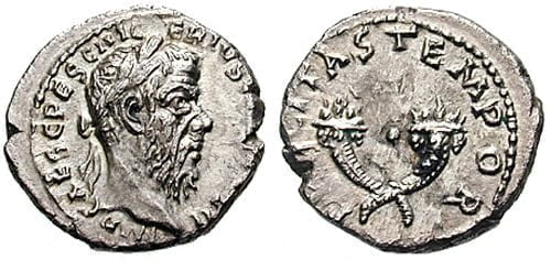 Pescennius Niger's coin