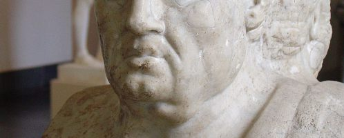 Seneca the Younger on the Roman herm