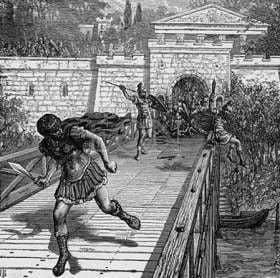 Gajusz Semproniusz Grakchus ucieka z miasta