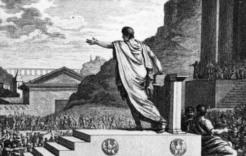 Gajusz Grakchus jako trybun