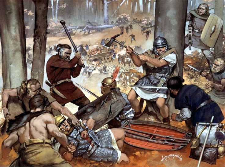 Battle of the Teutoburg Forest