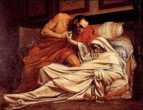 Śmierć Tyberiusza, Jean-Paul Laurens