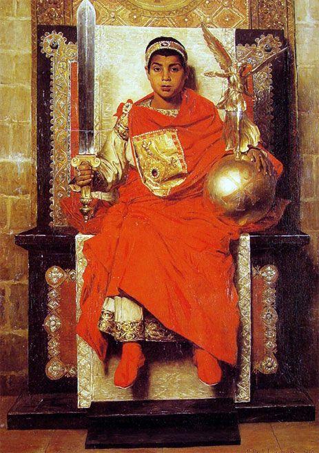 Cesarz Cesarstwa Zachodniego, Jean-Paul Laurens