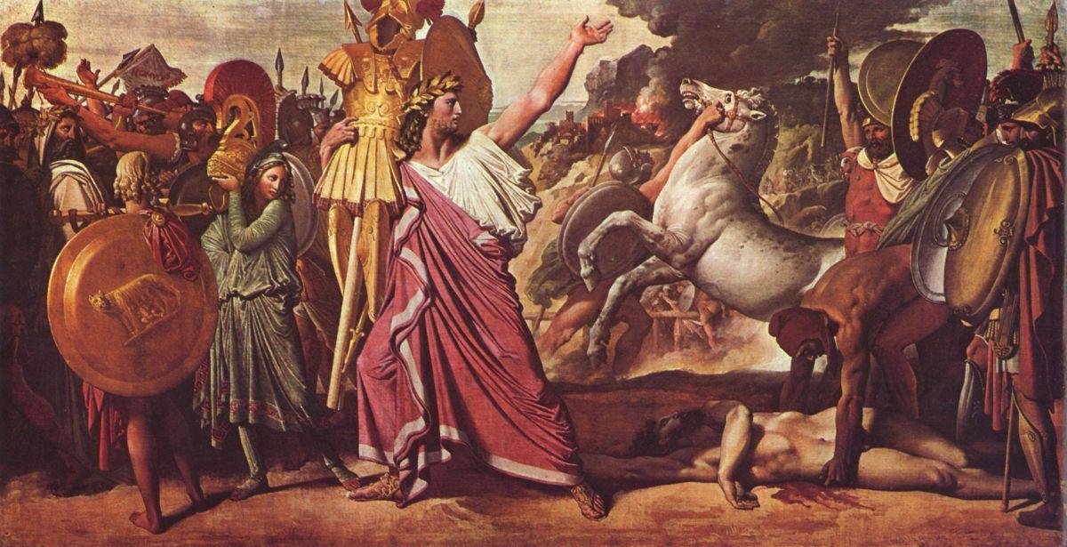 Romulus, zwycięzca Aksona, Jean-Auguste-Dominique Ingres