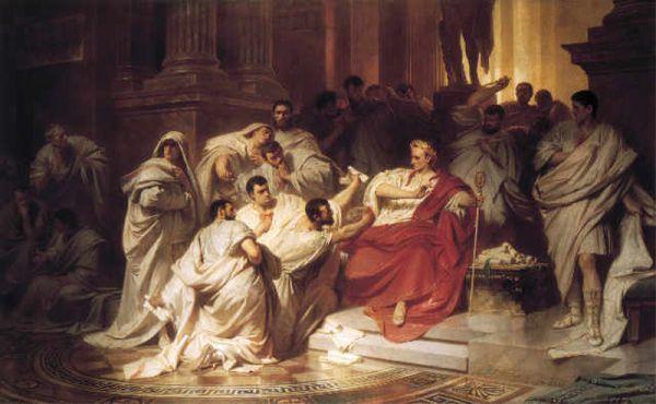 Śmierć Cezara, Karl Theodor von Piloty