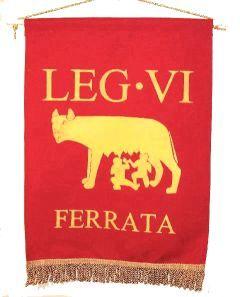Proporzec legionu VI Ferrata