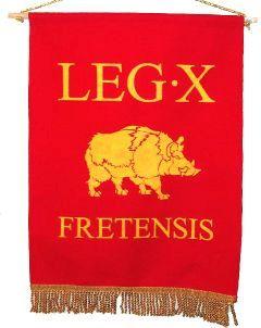 Proporzec legionu X Fretensis