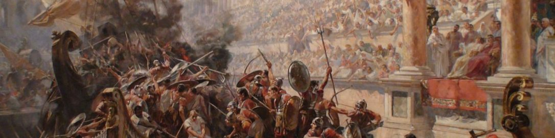 Naumachia w Rzymie, Ulpiano Checa