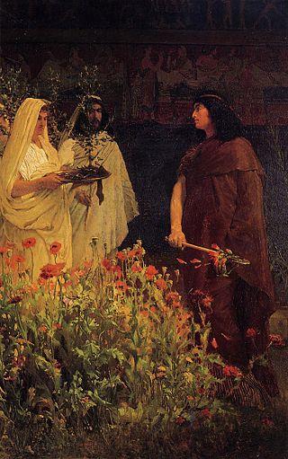 Tarquinius Superbus,  Lawrence Alma-Tadema