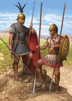 Legionista i falangista. II wiek p.n.e.