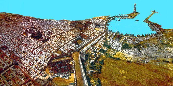 Rekonstrukcja miasta Leptis Magna