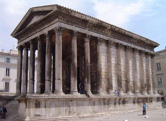 Świątynia Maison Carrée w Nîmes