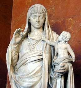 Messalina trzymająca niemowlaka, Brytanika