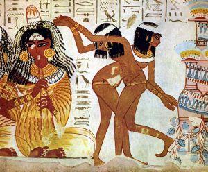 Antyczni Egipcjanie mieli bardzo bogate dziedzictwo kulturowe, związane z tańcem i śpiewami