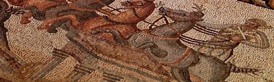 Trwają prace renowacyjne nad mozaiką ukazującą wyścig rydwanów