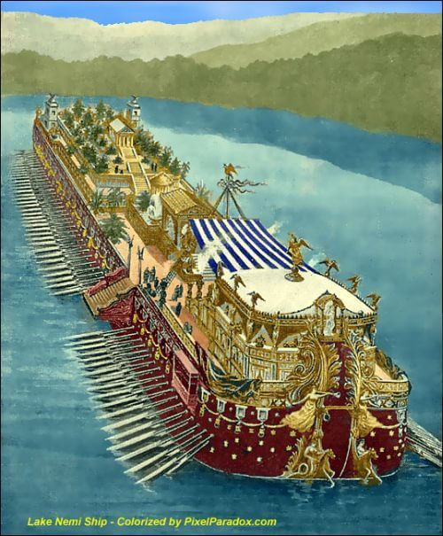 Caligula's great ships
