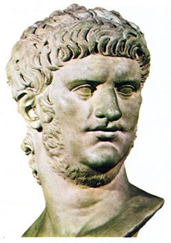 Wizerunek cesarza Nerona