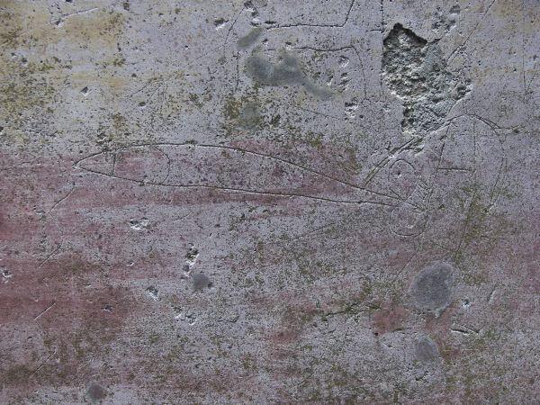 Wyżłobiony w ścianie członek męski
