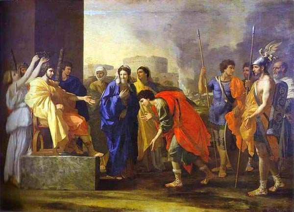 Wstrzemięźliwość Scypiona, Nicolas Poussin