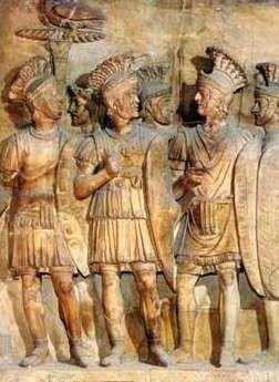 Straż pretoriańska Augusta z I wieku n.e.