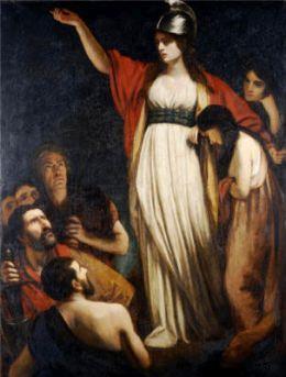 Królowa Boudika, John Opie