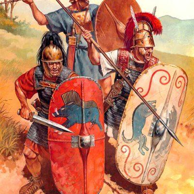 Rzymscy żołnierze okresu wojen punickich