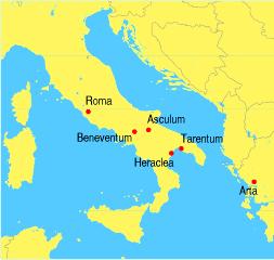Najważniejsze bitwy w czasie wojny z Pyrrusem