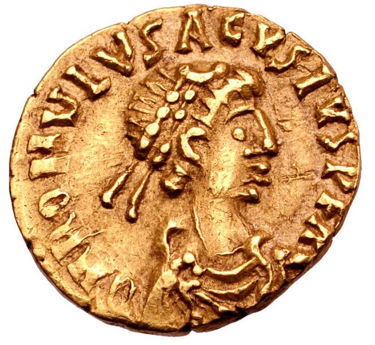 Coin of Romulus Augustulus