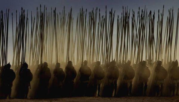 Macedońska falanga w marszu