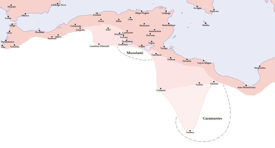 Granica w Północnej Afryce pod koniec II wieku n.e.