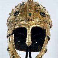 The richly decorated dorsal helmet was also found in Novi Sad (Serbia)