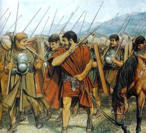 Roman legionaries were able to march 37.5 kilometers a day with the baggage weighing even 36 kilograms