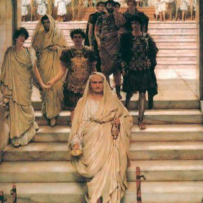 Triumf Tytusa, Lawrence Alma-Tadema