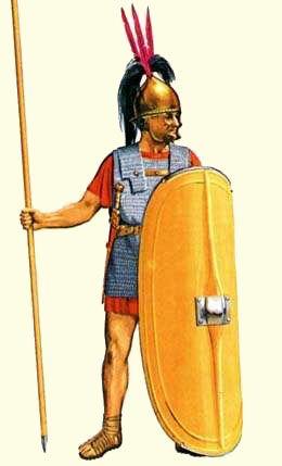 Triarius czasu Republiki Rzymskiej