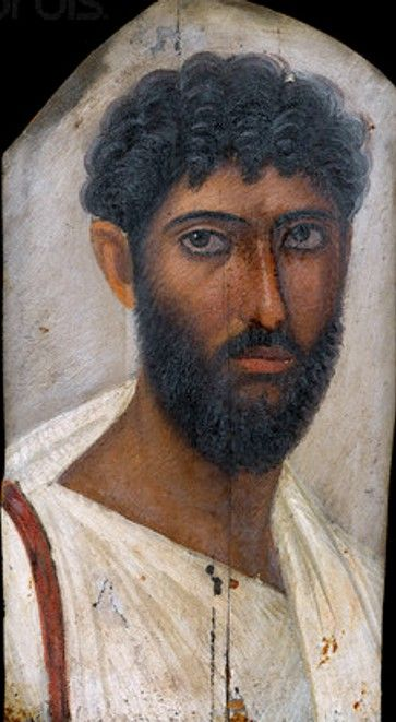 Rzymski portret młodego mężczyzny z brodą